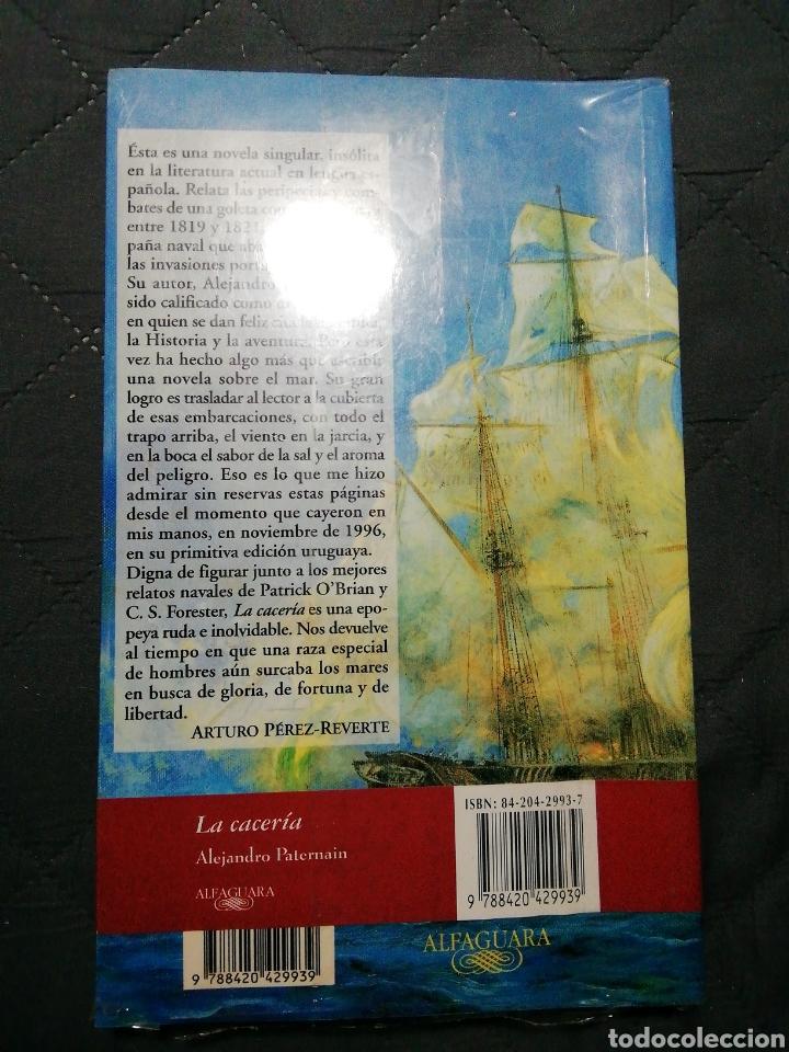 Libros: NUEVO EN EL PLÁSTICO! LA CACERÍA. ALEJANDRO PATERNAIN - Foto 2 - 200772222