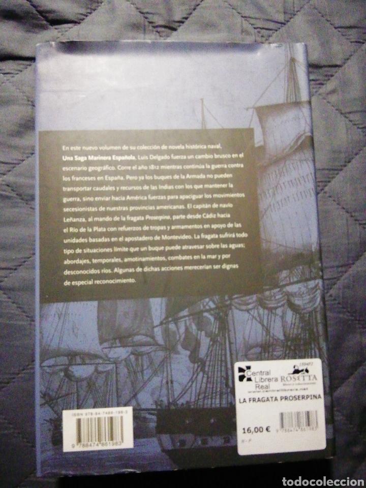 Libros: NUEVO. LA FRAGATA PROSERPINA. LUIS DELGADO - Foto 2 - 200871767