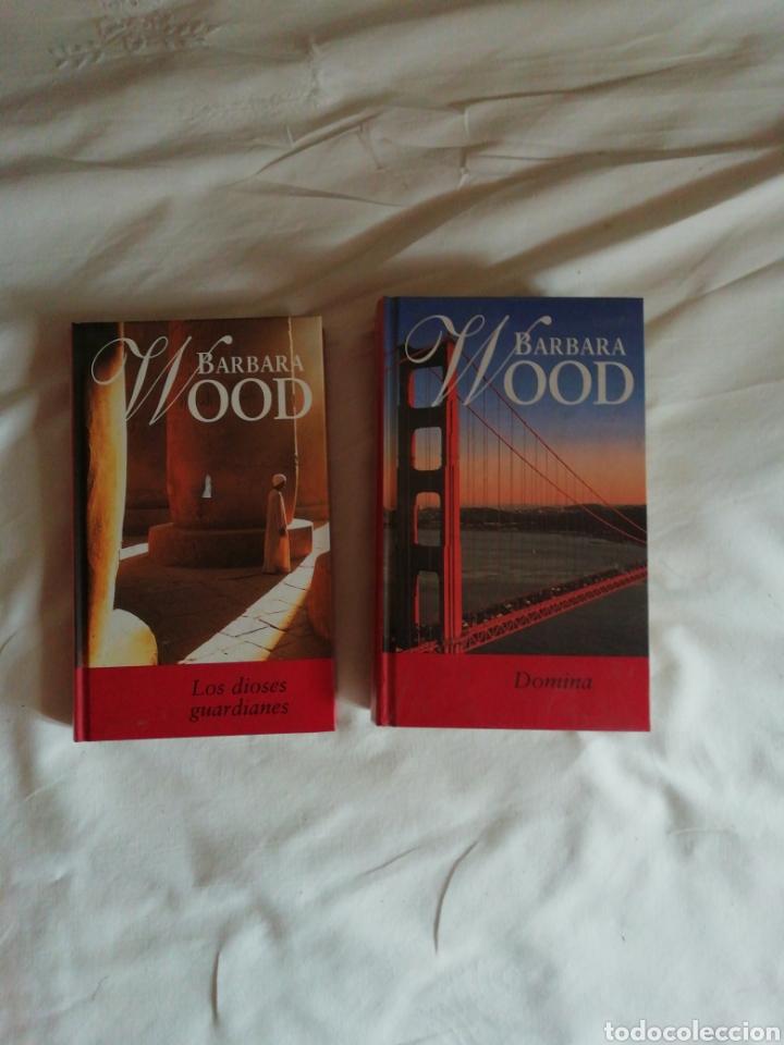 BÁRBARA WOOD DOMINA Y LOS DIOSES GUARDIANES (Libros Nuevos - Narrativa - Novela Histórica)