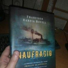 Libros: LIBRO: NAUFRAGIO. Lote 203904111