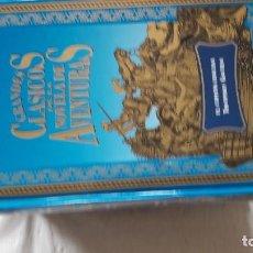 Libros: GRANDES CLÁSICOS DE LA NOVELA DE AVENTURAS 6 LIBROS: LAS MINAS DEL REY SALOMÓN, EL ÚLTIMO MOHICANO,. Lote 206794145
