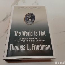 Libros: THE WORLD IS FLAT. Lote 207561321