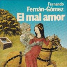 Libros: EL MAL AMOR. Lote 208401876