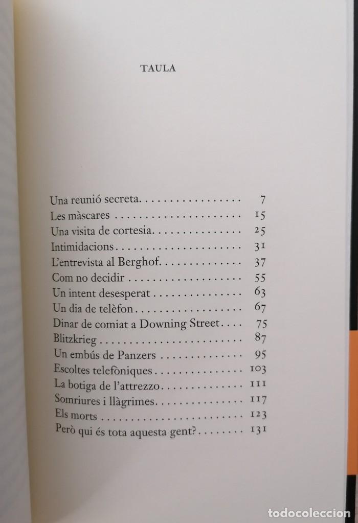 Libros: LORDRE DEL DIA - ÉRIC VUILLARD - EDICIONS 62 - 2018 - Foto 6 - 210552932