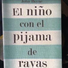 Libros: EL NIÑO CON EL PIJAMA DE RAYAS SALAMANDRA JOHN BOYNE LIBRO. Lote 210803367