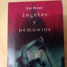 Libros: ANGELES Y DEMONIOS DE DAN BROWN. Lote 215034333