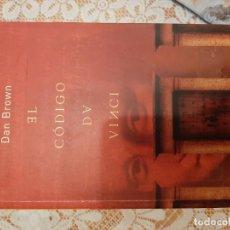 Libros: EL CODIGO DAVINCI - DAN BROWN. Lote 219173550
