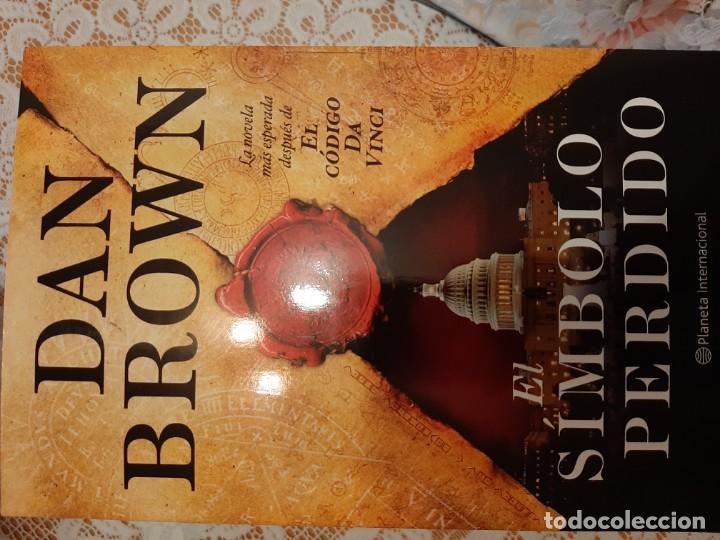 EL SIMBOLO PERDIDO - DAN BROWN (Libros Nuevos - Narrativa - Novela Histórica)