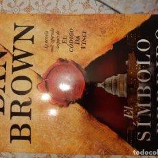 Libros: EL SIMBOLO PERDIDO - DAN BROWN. Lote 219173627