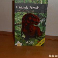 Libros: ARTHUR CONAN DOYLE, EL MUNDO PERDIDO - PLUTÓN EDICIONES. Lote 219743338