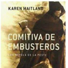 Libros: COMITIVA DE EMBUSTEROS. Lote 220940451