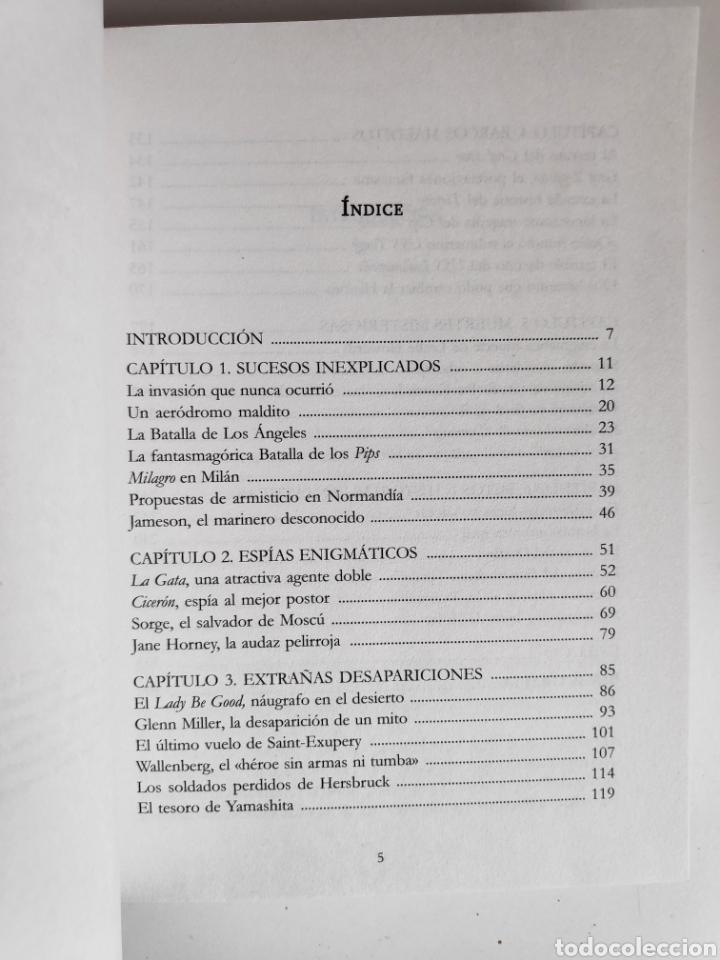 Libros: Libro. Enigmas y Misterios de la Segunda Guerra Mundial. Jesus Hernandez - Foto 4 - 221781293