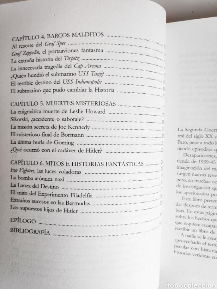 Libros: Libro. Enigmas y Misterios de la Segunda Guerra Mundial. Jesus Hernandez - Foto 5 - 221781293