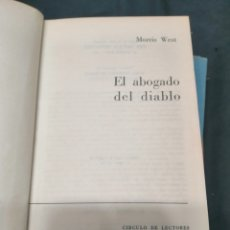 Libros: EL ABOGADO DEL DIABLO. Lote 222090465