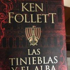 Libros: LAS TINIEBLAS DEL ALBA DE KEN FOLLET. Lote 222411080