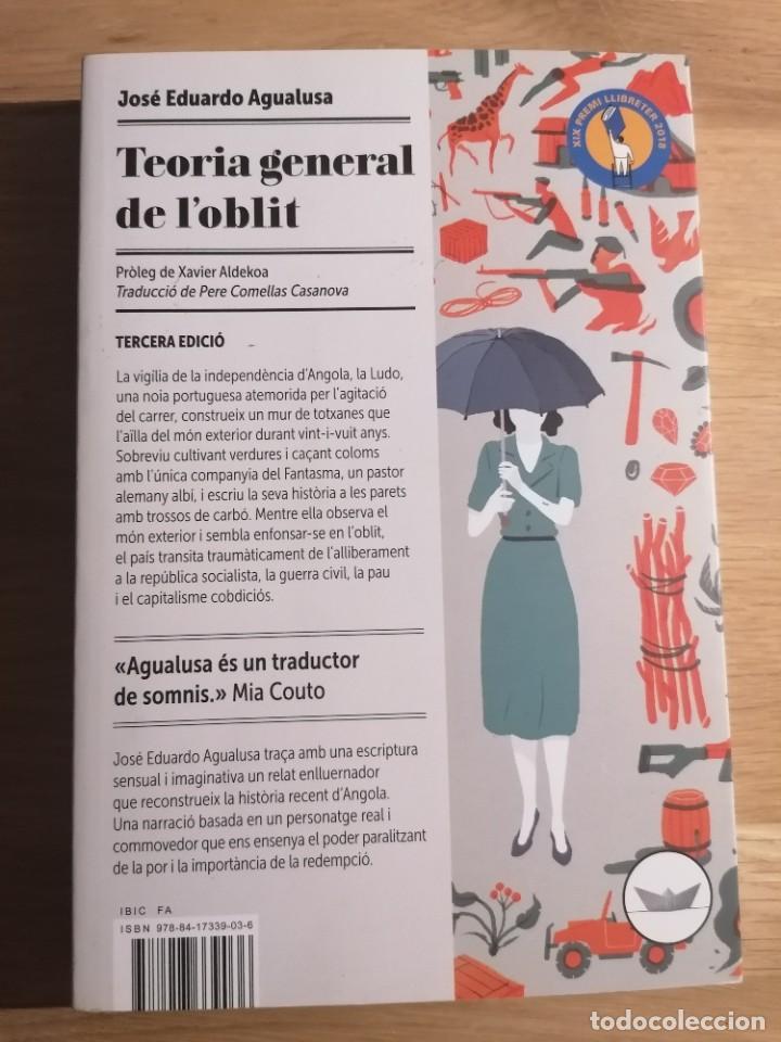 TEORIA GENERAL DE L'OBLIT - JOSÉ EDUARDO AGUALUSA - EDICIONS DEL PERISCOPI - 2018 (Libros Nuevos - Narrativa - Novela Histórica)