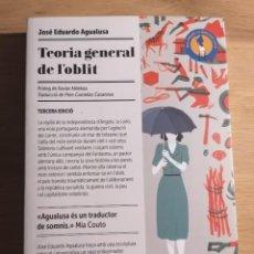 Libros: TEORIA GENERAL DE L'OBLIT - JOSÉ EDUARDO AGUALUSA - EDICIONS DEL PERISCOPI - 2018. Lote 222841472