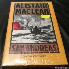 Libros: ALISTAIR MACLEAN - SAN ANDREAS - CÍRCULO DE LECTORES. Lote 224007226