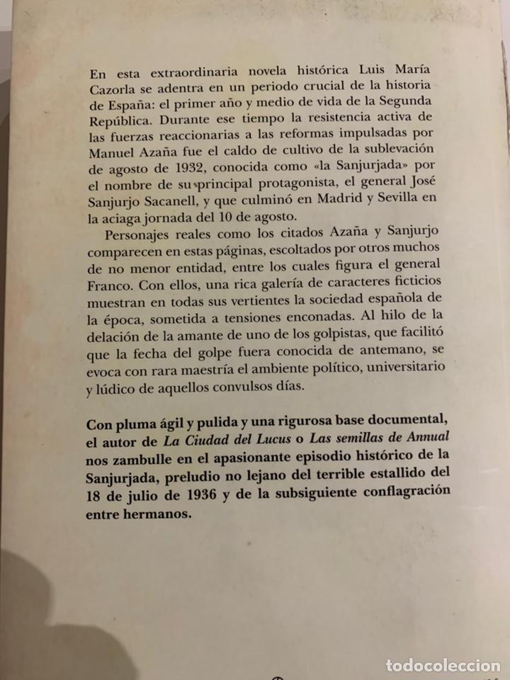 Libros: La rebelión del General Sanjurjo de Luis María Cazorla - Foto 2 - 224122131