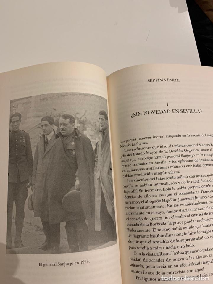 Libros: La rebelión del General Sanjurjo de Luis María Cazorla - Foto 4 - 224122131
