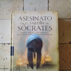 """Libros: """"ASESINATO EN EL JARDÍN DE SÓCRATES"""" SASCHA BERST. Lote 224874476"""