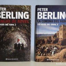Libros: LOS HIJOS DEL GRIAL VOLÚMENES 2 Y 3 (PETER BERLING) TAPA DURA.. Lote 230982745