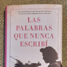 Libros: LAS PALABRAS QUE NUNCA ESCRIBÍ DE JANE THYNNE. Lote 243852315