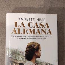 Libros: LA CASA ALEMANA, DE ANNETTE HESS.. Lote 244411945