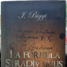 Libros: LA FÓRMULA STRADIVARIUS. Lote 245617235
