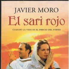 Libros: EL SARI ROJO -- JAVIER MORO. Lote 251547225