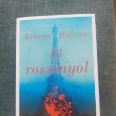 Libros: NOVEL·LA EL ROSSINYOL. Lote 254420325