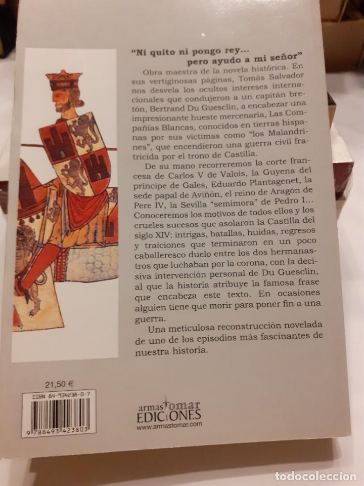 Libros: LAS COMPAÑÍAS BLANCAS (LOS MALANDRINES).- Tomás Salvador - Foto 2 - 255519900