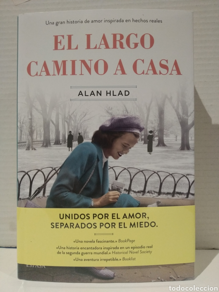 ALAN HLAD. EL LARGO CAMINO A CASA. TAPA DURA (Libros Nuevos - Narrativa - Novela Histórica)