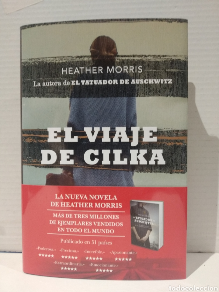 EL VIAJE DE CILKA HEATHER MORRIS (Libros Nuevos - Narrativa - Novela Histórica)
