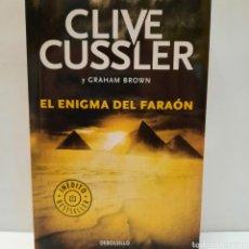 Libros: EL ENIGMA DEL FARAÓN DE CLIVE CUSSLER. Lote 261143525