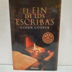 Libros: EL FIN DE LOS ESCRIBAS DE GLENN COOPER. Lote 261143880