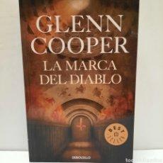 Libros: LA MARCA DEL DIABLO DE GLENN COOPER. Lote 261143960