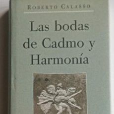 Libros: LAS BODAS DE CADMIO Y HARMONÍA.. Lote 261975930