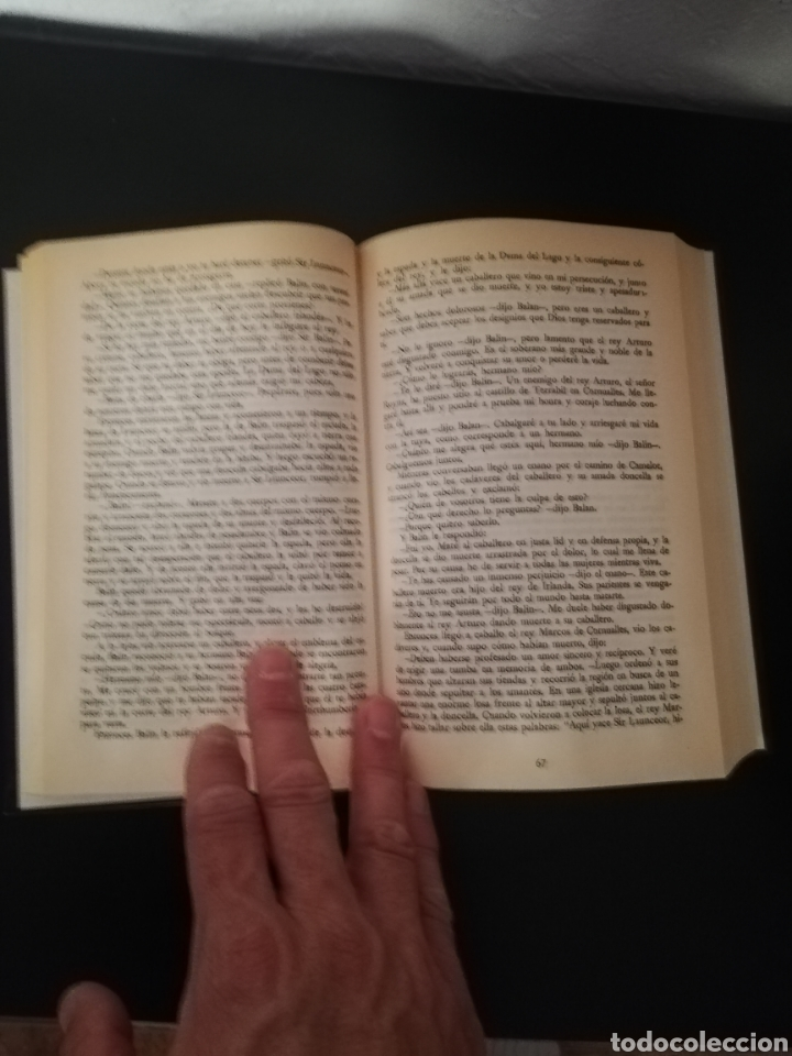 Libros: Los hechos del Rey Arturo Libro 1999 - Foto 3 - 262082300