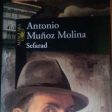 Libros: SEFARAD. ANTONIO MUÑOZ MOLINA.. Lote 263610665