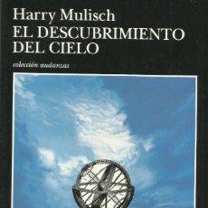Libros: EL DESCIBRIMIENTO DEL CIELO / HARRY MULISCH.. Lote 267274589