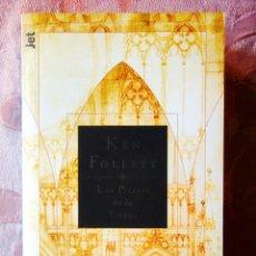 Libros: KEN FOLLET: LOS PILARES DE LA TIERRA - NUEVO. Lote 270135378