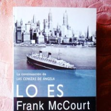 Libros: FRANK MCCOURT: LO ES - NUEVO. Lote 270135543