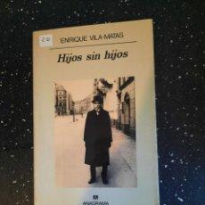 Libros: HIJOS SIN HIJOS. Lote 270172793
