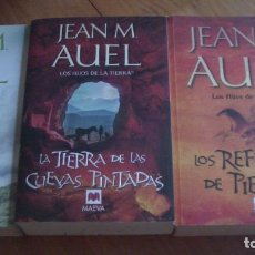 Libros: LOS HIJOS DE LA TIERRA. LOTE 3 LIBROS JEAN M. AUEL. MAEVA,. Lote 276705813