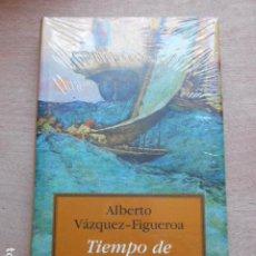 Libros: ALBERTO VAZQUEZ FIGUEROA TIEMPO DE CONQUISTADORES. Lote 277455393