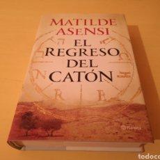 Libros: EL REGRESO DEL CATÓN MATILDE ASENSI. Lote 278429653