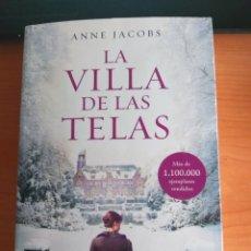 Libros: LA VILLA DE LAS TELAS. ANNE JACOBS.. Lote 278518703