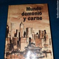 Libros: MUNDO, DEMONIO Y CARNE. HERMAN WOUK, NOVELA 1967. Lote 283498448