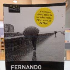 Libros: AÑOS LENTOS. FERNANDO ARAMBURU. TUSQUETS. Lote 295298143